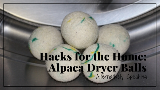 Hacks for the Home: Alpaca Dryer Balls