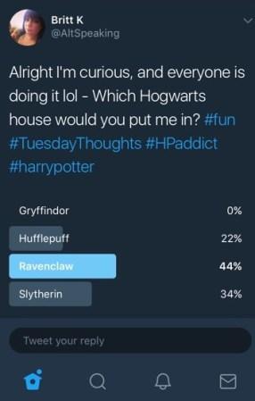 Harry Potter, Twitter, Hogwarts