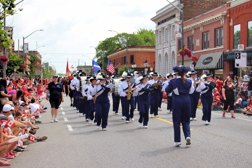 Canada Day, Canada 150, marching band, parade