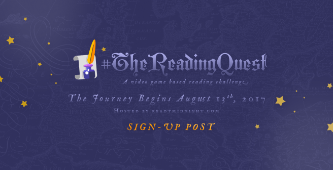 #TheReadingQuest
