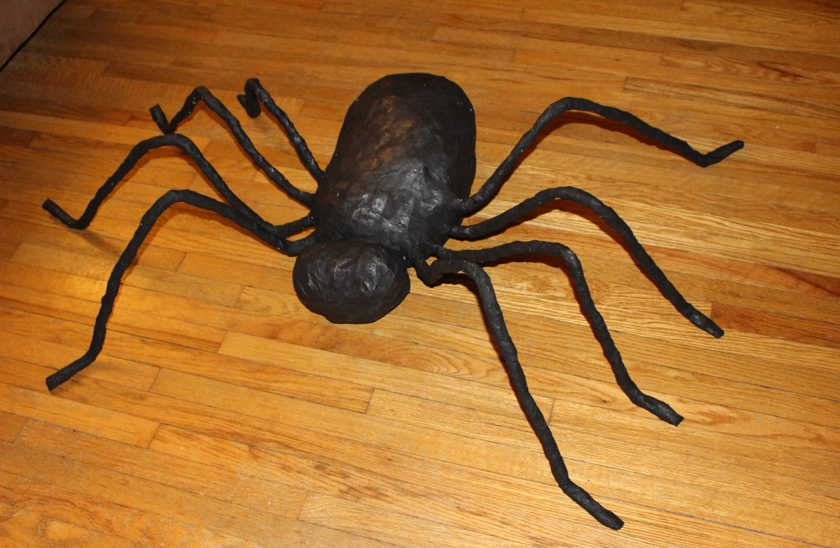 decorations, Halloween decorations, spider decorations, DIY spider decoration, DIY Halloween decoration