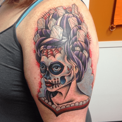 tattoo, tattoos, Halloween tattoo, Halloween tattoos
