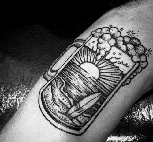 45 tattoos for the ultimate beer lover alternatively speaking