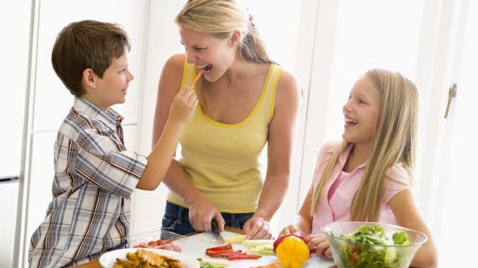 starting kids with a healthy diet