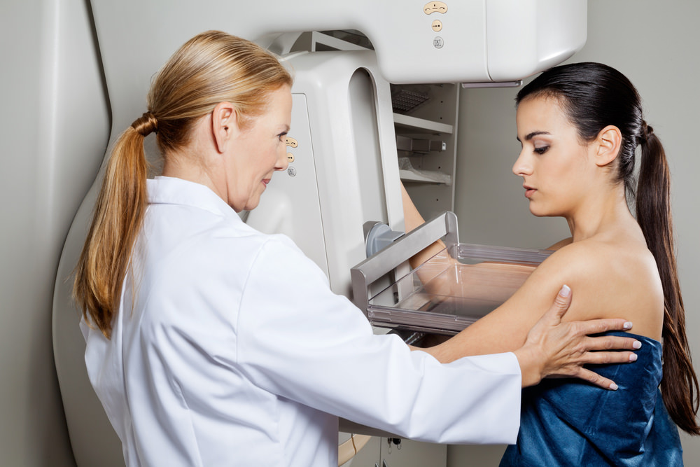 Breast examination procedure
