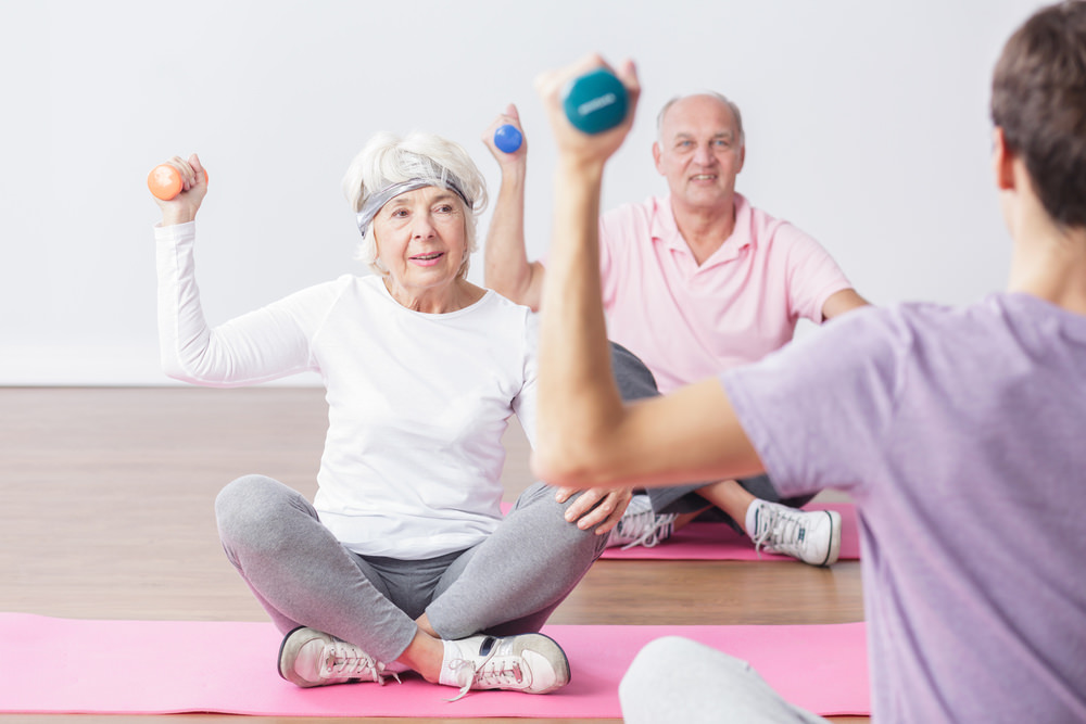 Weight training for older adult