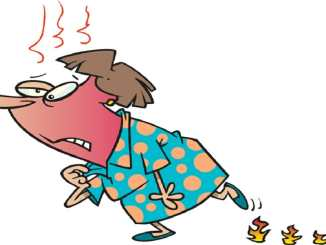 Risks related to hot flashes