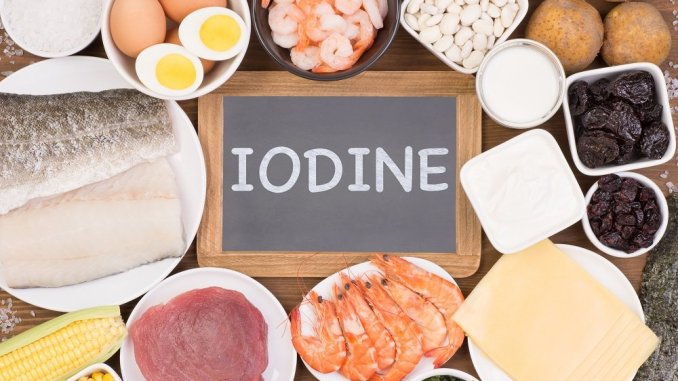 Foods to support iodine