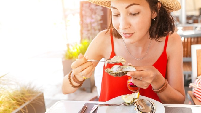 Oysters are one of the best sources of zinc