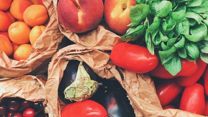 How many servings of fruits and vegetables should we eat each day?
