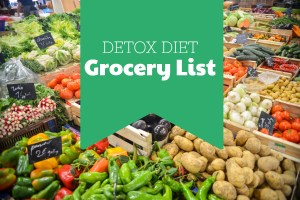 Helpful Shopping List For Your Detox Diets