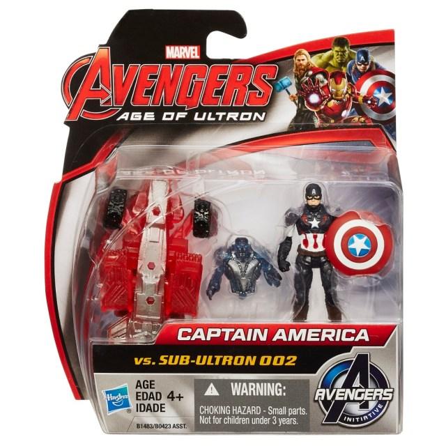 Captain America 2-pack pkg