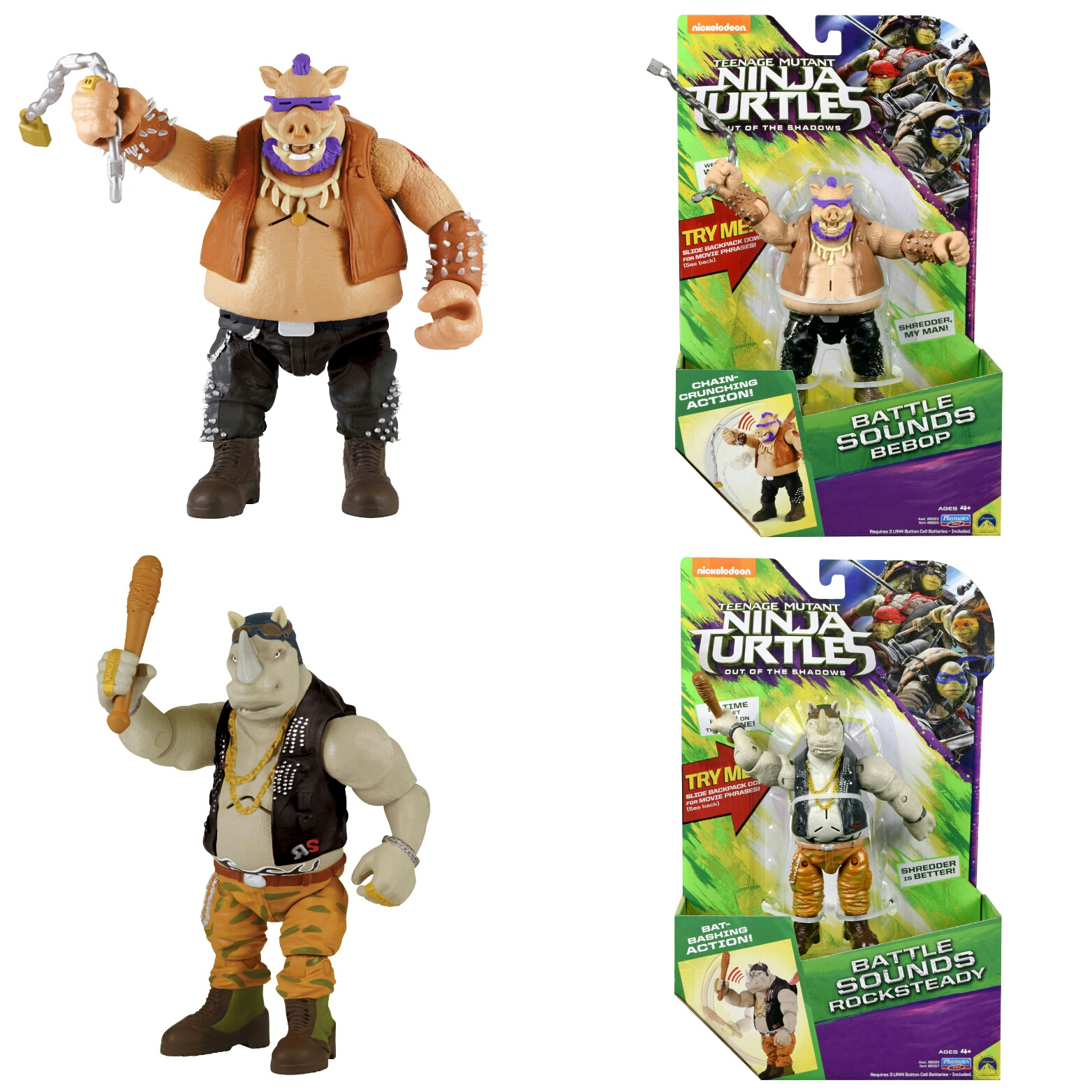 Playmates reveals their battle sound TMNT out of the Shadows