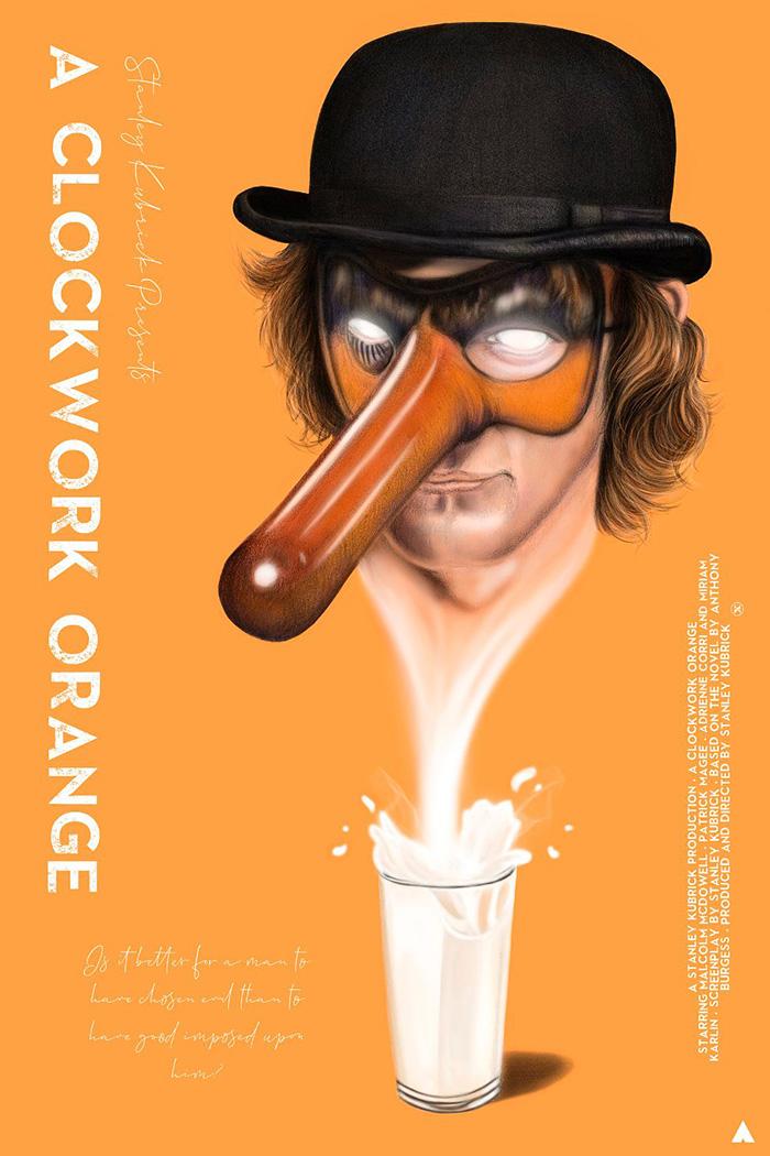 A Clockwork Orange Archives - Home of the Alternative Movie Poster -AMP-