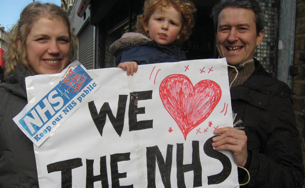 Keep our NHS public supporters, Hackney