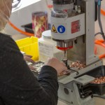 Machine at Alternatives Industry being used by a skilled worker