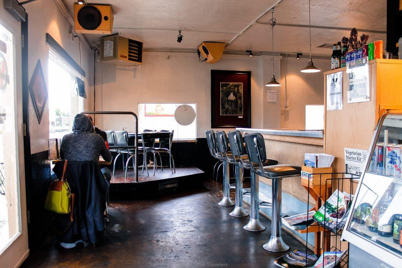 Vertical Diner interior - a vegan restaurant in SLC