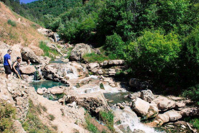 Diamond Fork Hot springs