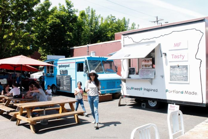 Food trucks in Mississippi, Portland.