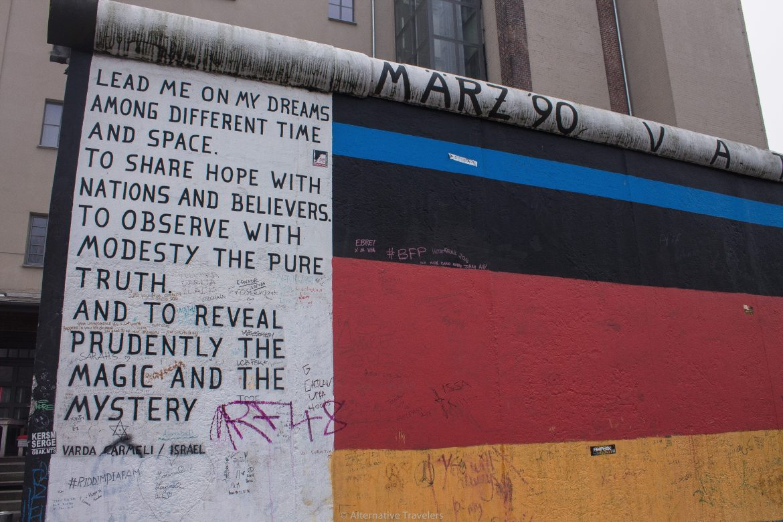 The East Side Gallery in Berlin | AlternativeTravelers.com