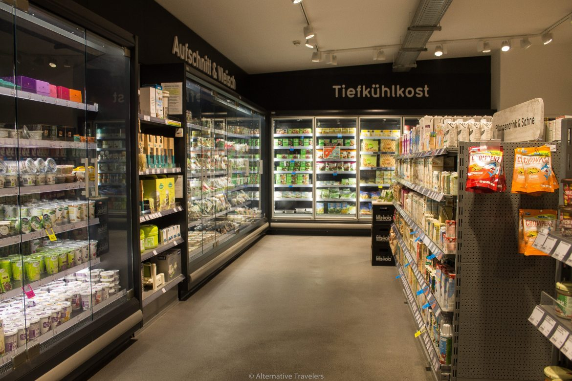 Veganz, the all vegan supermarket in Berlin | AlternativeTravelers.com