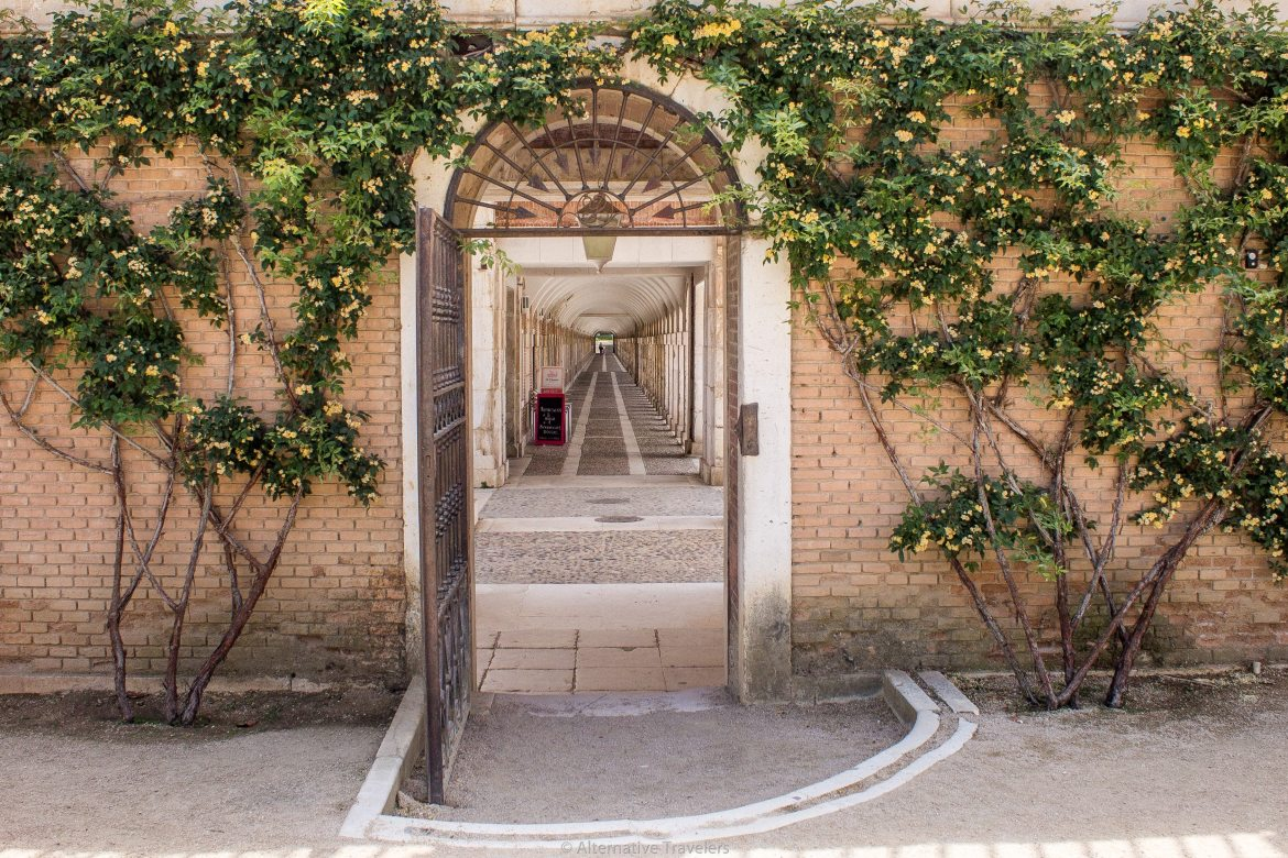 Aranjuez is a small historic town with a palace and many large gardens for strolling. A day trip to Aranjuez is an easy departure from the bustle of Madrid. - AlternativeTravelers.com