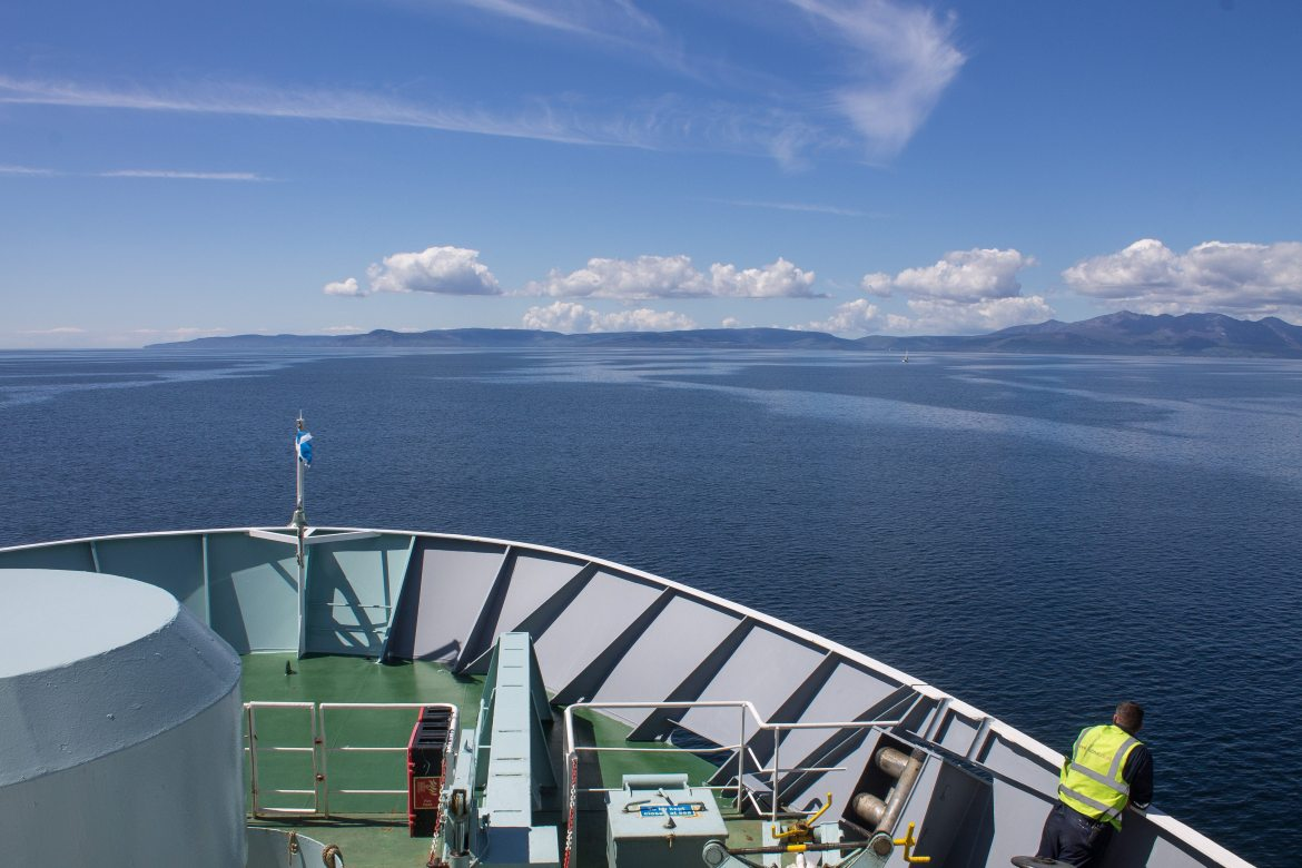 Ferry from Ardrossan Harbour to Brodick on the Isle of Arran - the best way to get to Isle of Arran from Glasgow | AlternativeTravelers.com