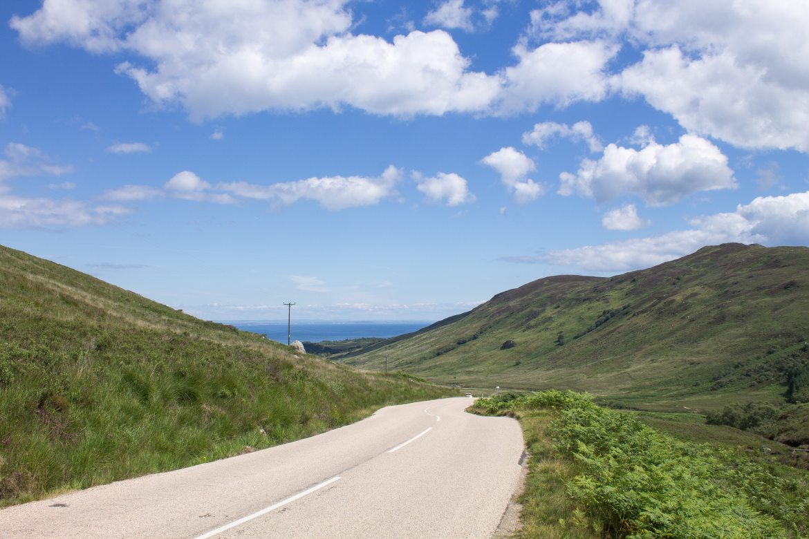 Highland landscapes on Isle of Arran