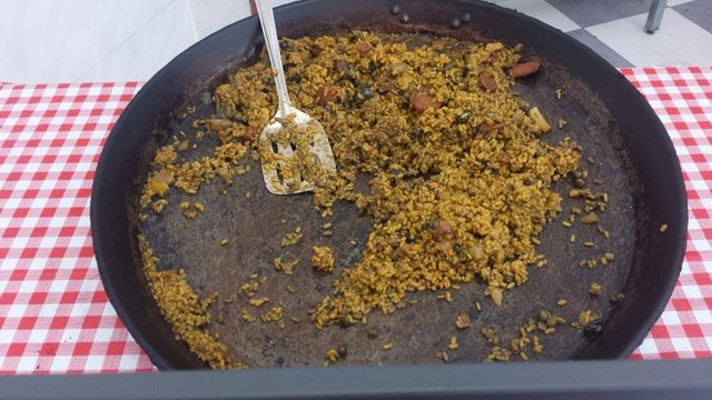 Vegan Paella in Valencia
