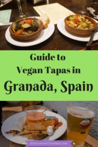 Guide to Vegan Tapas in Granada: Best vegan and vegetarian tapas in Granada, Spain! Altera