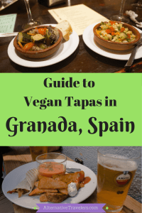 Guide to Vegan Tapas in Granada: Best vegan and vegetarian tapas in Granada, Spain! Altera