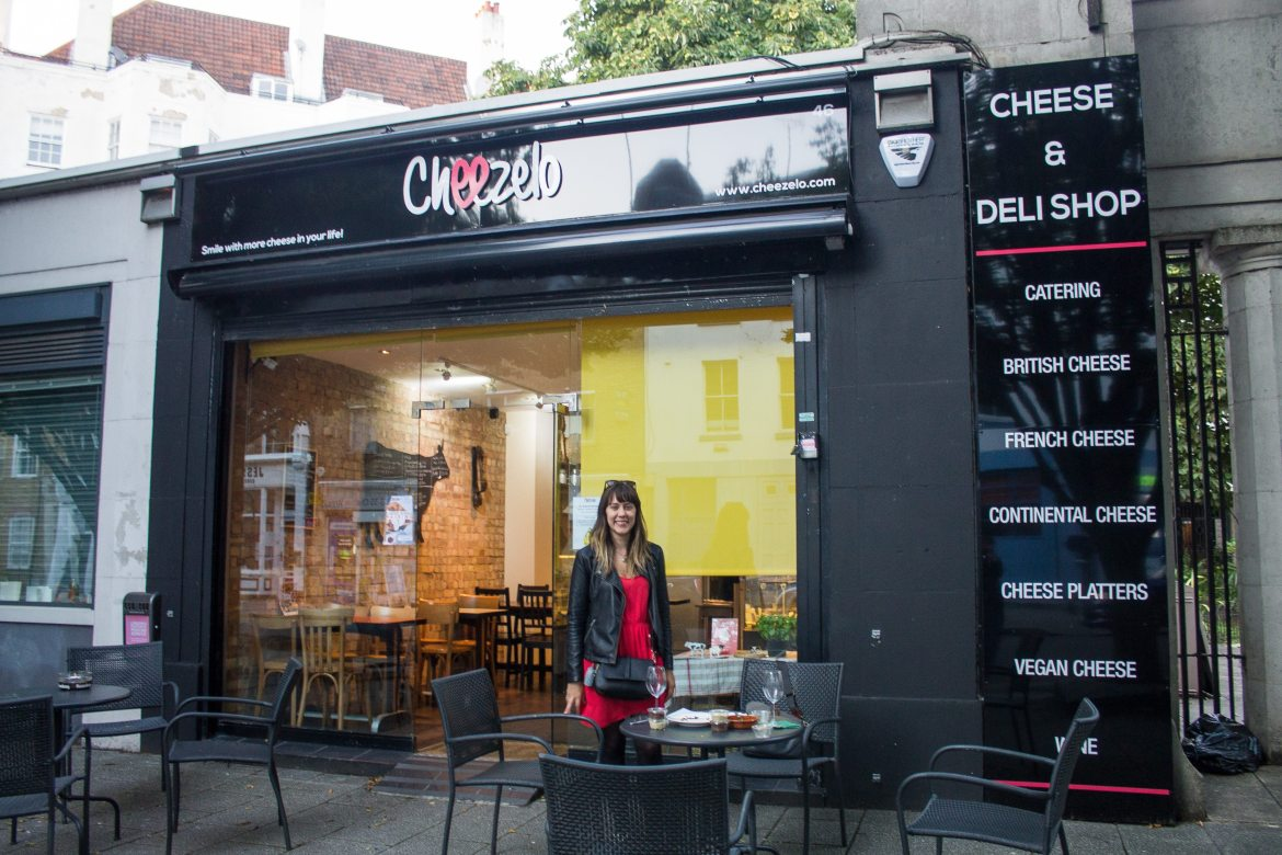 Caitlin of The Vegan Word at Cheezelo