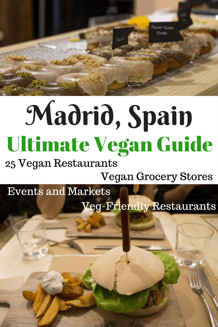 The only vegan guide to Madrid you'll ever need! Including all 25 vegan restaurants in Madrid, where to find traditional Spanish food veganized, vegan grocery stores, markets, meetups, and more! | AlternativeTravelers.com