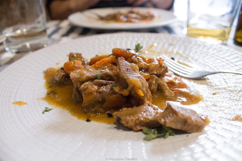 menu del dia at Landareak Madrid, Spain