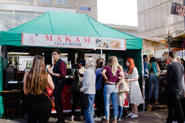 Makam Vegan Doner at Berlin Veganes Sommerfest