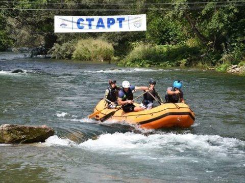 Svetski rafting kup, Zubin Potok; foto: Svetska rafting organizacija