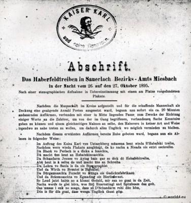 Haberfeldtreiben, Sauerlach, Amt Miesbach. Oberbayerischer Brauch. Bayerisches Brauchtum, Sühnegericht.