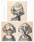 Frauen Kopfbedeckung um 1530 in Nürnberg