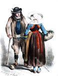 Kostüme von Scaër, Arrondt. von Quimperlé