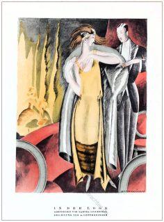 Martha Löwenthal, Annie Offterdinger, Abendkleid, Kostüm, STYL Modemagazin, 1920er, Modegeschichte, Art deco,