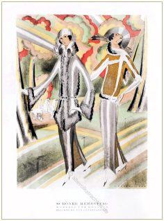 Kostüme, Mossner, Annie, Offterdinger, Styl, Modemagazin, 1920er, Modegeschichte, Art deco,