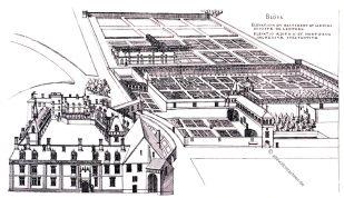 Blois, Cerceau, Kupferstich, Rennaisance, Architecture, August Grisebach,
