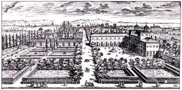 Villa Medici, Giovanni Battista Falda, Renaissance, Architektur, August Grisebach