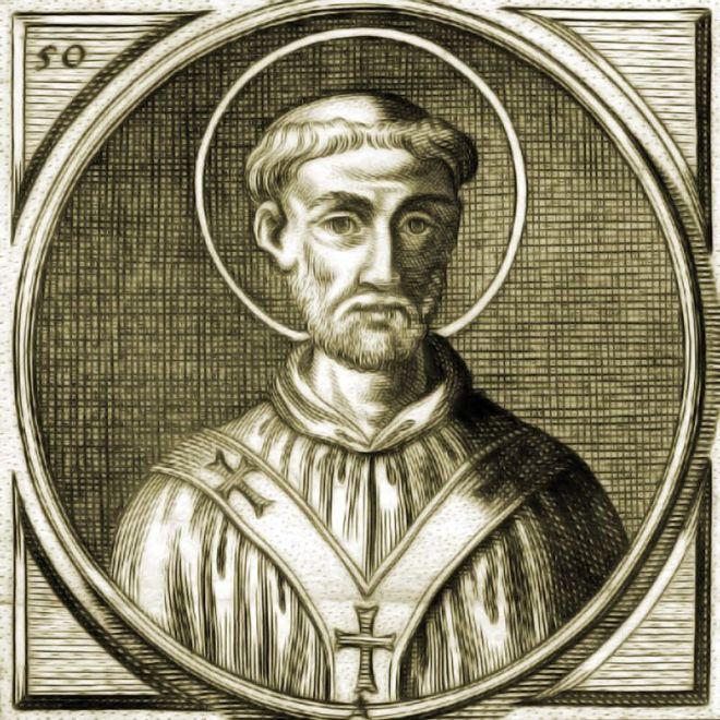 Papst, Gelasius I., mittelalter, Spätantike, Kupferstich