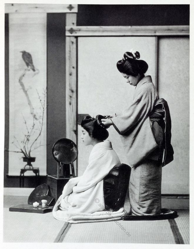 Kazuma Ogawa, Fotograf, Japan, Fotografie, Friseuse, Kimono