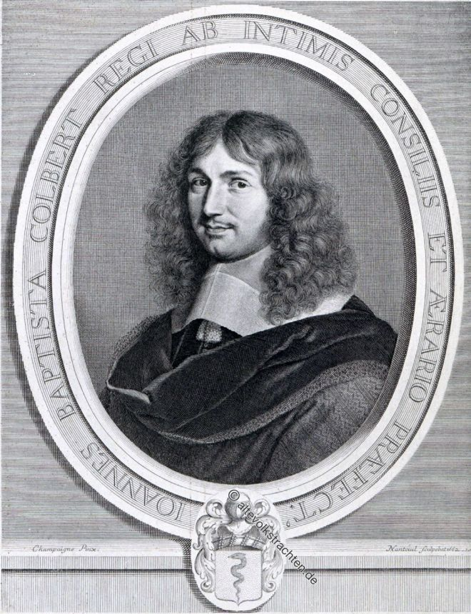 Jean-Baptiste Colbert, Ludwig XIV, Barock, Merkantilismus, Finanzminister, Staatsmann, Frankreich
