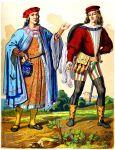 Höfling und Ehrenmann. Englische Mode des Mittelalters.