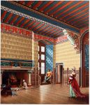Pierrefonds. Inneres eines franz. Wohnhauses im 15. Jh.