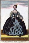 Braut und Bräutigam aus Nürnberg um 1700.