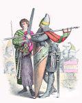 Knappe und Ritter im ersten Kreuzzug 1096 – 1099.